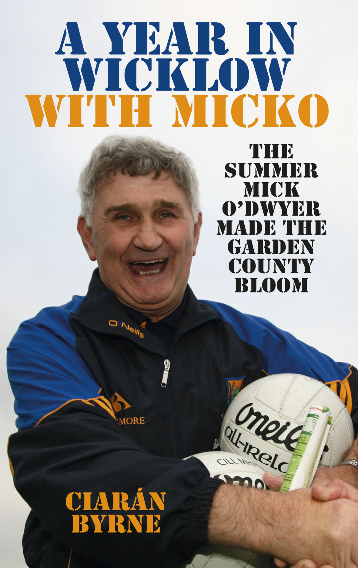 Mick O'Dwyer Wicklow book front cover